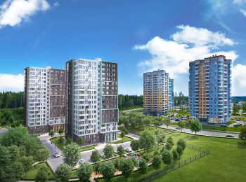 Общий вид жилого комплекса Зеленый бор